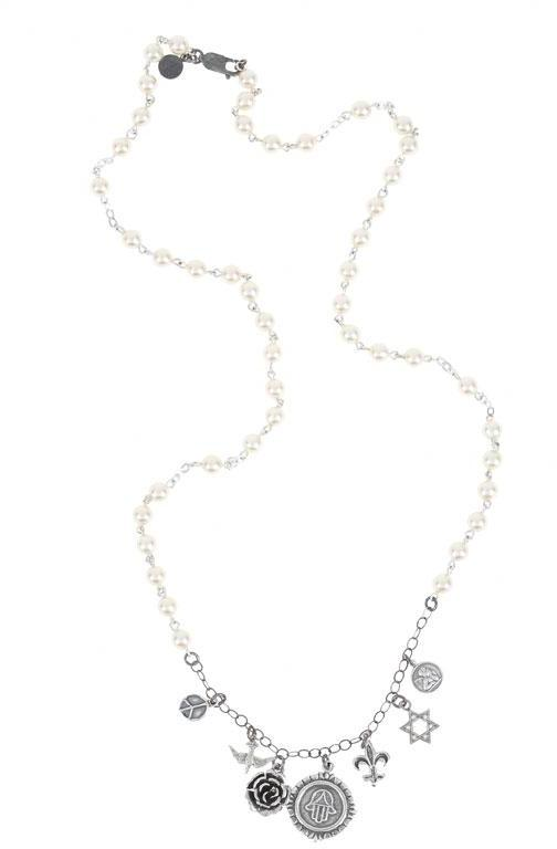 Nash Assorted Charm Necklace in Assorted -