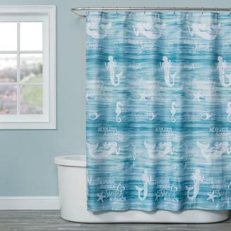 Saturday Knight Ltd. Saturday Knight, Ltd. Mermaid Shore Shower Curtain
