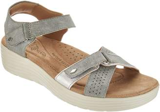 Earth Origins Adjustable Multi Strap Sandals - Gaven