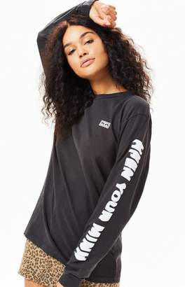 Obey Open Your Mind Long Sleeve T-Shirt