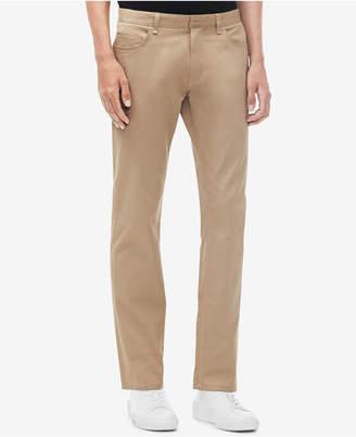 Calvin Klein Men's Slim-Fit Cavalry Stretch Twill Pants