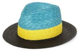 Paul Smith Tri-Block Woven Hat
