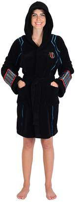 Marvel Ladies Widow Avengers Fleece Robe (One Size)