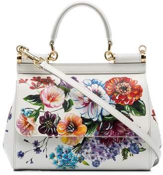 Dolce & Gabbana Dauphine floral print tote bag