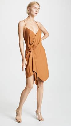 Michelle Mason Draped Cami Mini Dress