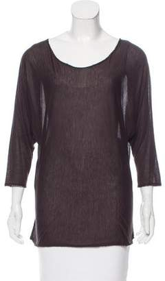 The Row Oversize Jersey Top