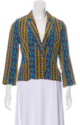 Marc by Marc Jacobs Silk Patterned Blazer