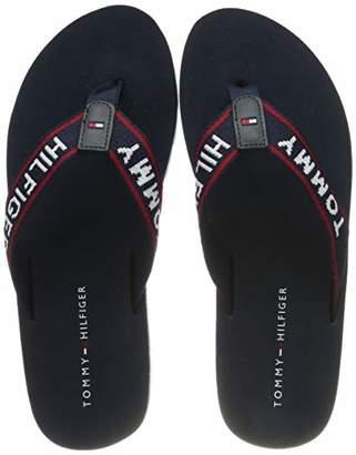 f4118dd719a6 Tommy Hilfiger Women s Sporty Flat Beach Sandal Flip Flops
