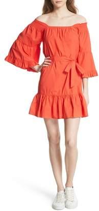 Joie Colstona Ruffle Cotton Dress