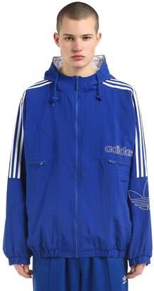 adidas Tref Hooded Woven Nylon Jacket