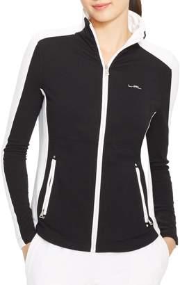 Lauren Ralph Lauren Plus Mockneck Track Jacket