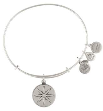 Alex and Ani Star of Venus Charm Expandable Wire Bracelet