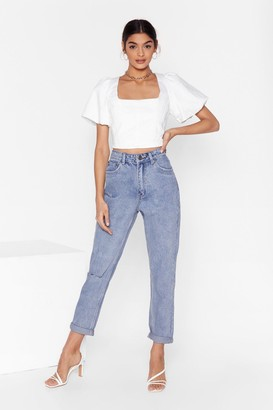 Nasty Gal Shouldn't Have Shred It Distressed Denim Jeans