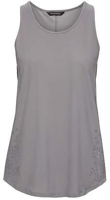 Banana Republic LIFE IN MOTION Laser-Cut Quick-Dry Tank