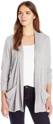 Calvin Klein Jeans Women's Shawl Collar Rib Cardigan