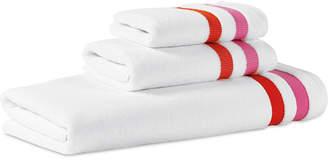 Kate Spade Candy Stripe Cotton Bath Towel