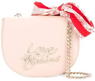 Love Moschino bandana-detail crossbody bag