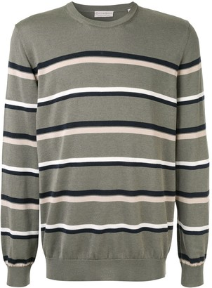 Gieves & Hawkes horizontal stripes jumper