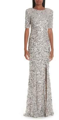 Rachel Gilbert Zowie Sequin Gown