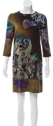Etro Printed Mini Dress