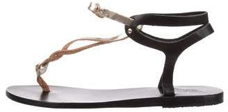 Ancient Greek Sandals Leather Thong Sandals
