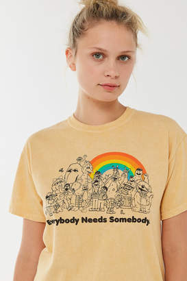Urban Outfitters Sesame Street Everybody Needs Somebody Tee