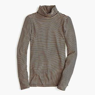 J.Crew Tissue turtleneck T-shirt in stripes