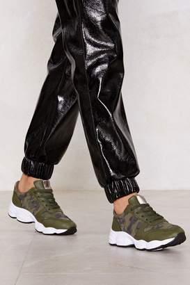 Nasty Gal You Camo Do It Sneaker