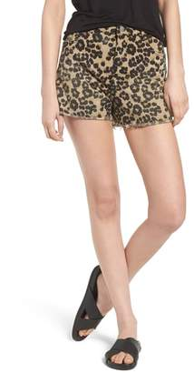 Scotch & Soda Animal Print Cutoff Shorts