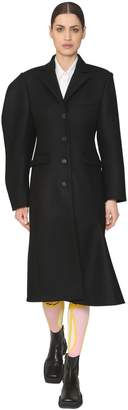 Aalto Structured Sleeve Wool Blend Coat