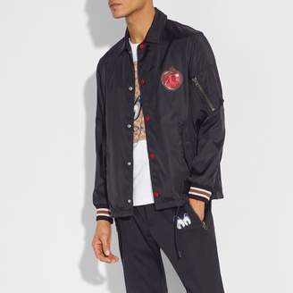 Coach Disney X Poison Apple Coach'S Jacket