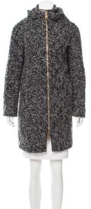 Herno Layered Bouclé Coat