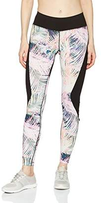 Pink Lotus PL Movement by Women's Vanilla Island Printed Active Legging