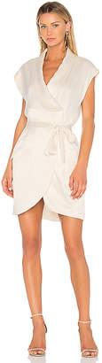 Halston Cap Sleeve Shirt Dress