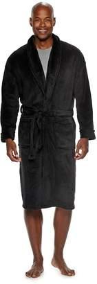Croft & Barrow Men's Solid Plush Robe