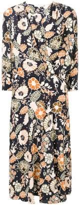 Vanessa Bruno floral print shirt dress