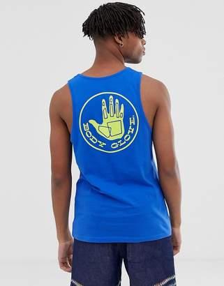 Body Glove Core Logo singlet in blue