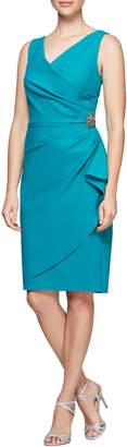 Alex Evenings Side Ruched Dress