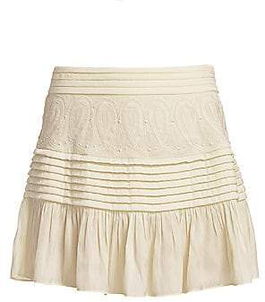 Ramy Brook Women's Denali Detailed Skirt