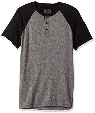 Lucky Brand Men's Baseball Henley Shirt