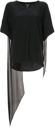 Thomas Wylde boxy tie-sleeve T-shirt