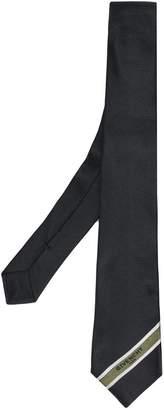 Givenchy diagonal stripe detail tie