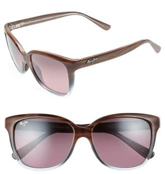 Maui Jim Starfish 56mm Polarized Cat Eye Sunglasses