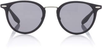 Barton Perreira Cambridge Round Sunglasses