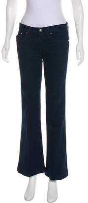 Ralph Lauren Black Label Mid-Rise Wide-Leg Jeans