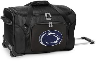 NCAA Denco Penn State Nittany Lions 22-Inch Wheeled Duffel Bag