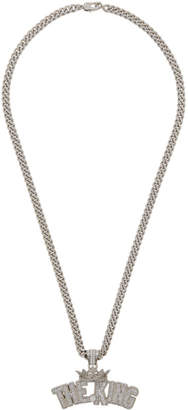 Dolce & Gabbana Silver The King Necklace