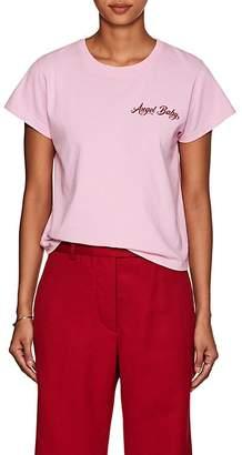 "ADAPTATION Women's ""Angel Baby"" Cotton Crewneck T-Shirt"