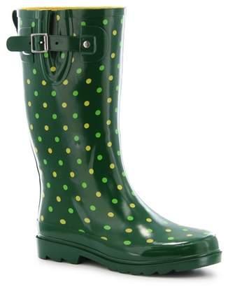 Western Chief Simple Dot Waterproof Rain Boot
