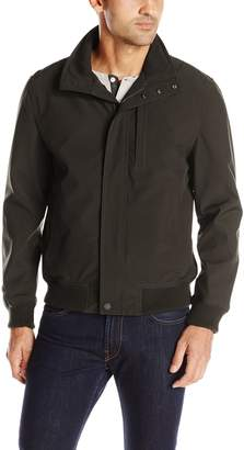 London Fog Men's Banks Bonded Softshell Jacket